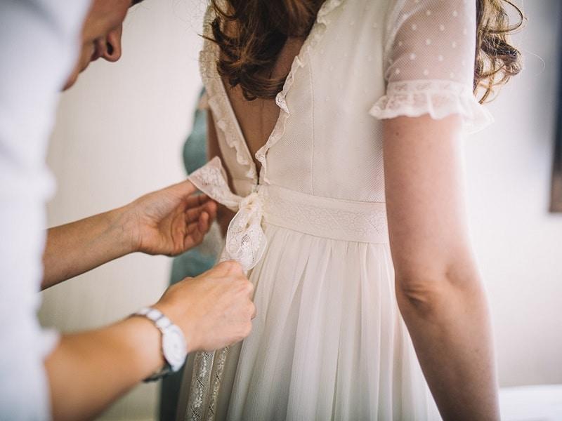 bed9af341 El Vestido de Novia de Angélica - Atelier novias Madrid