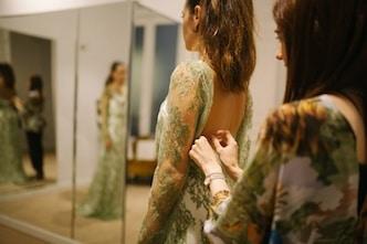 diseño vestido novia madrid