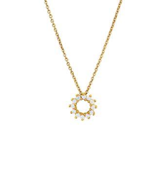 Colgante de diamantes NAVAS JOYEROS + RAQUEL FERREIRO colección LIAISON