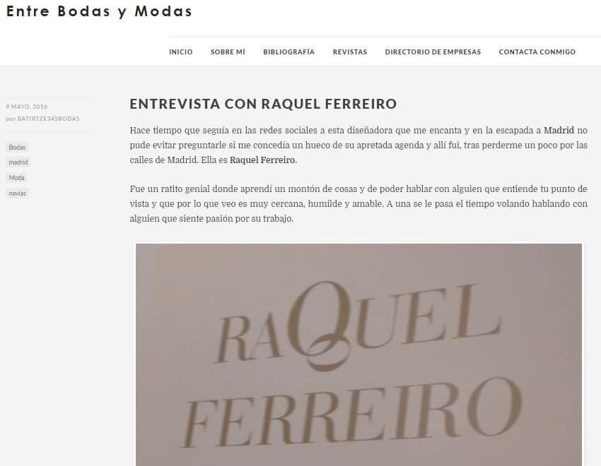 atelier novias en madrid
