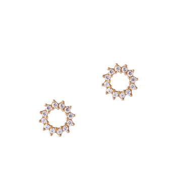 Pendiente de diamantes NAVAS JOYEROS + RAQUEL FERREIRO colección LIAISON